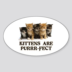 Kittens Are Purr-fect Sticker