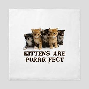 Kittens Are Purr-fect Queen Duvet