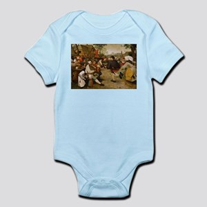 The Peasant Dance by Pieter Bruegal the Body Suit