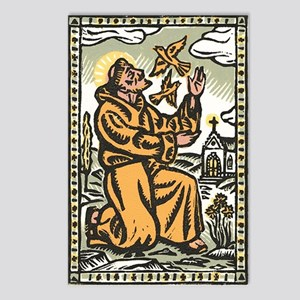 St. Francis Postcards (Package of 8)