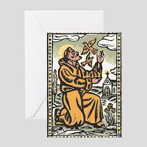 St. Francis Greeting Card