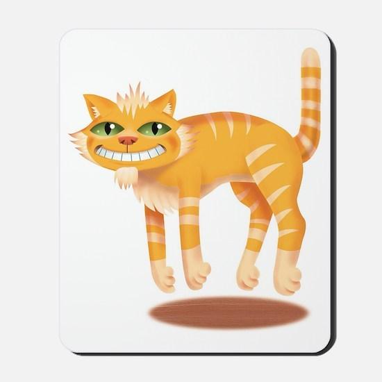 Jumping Cat Mousepad