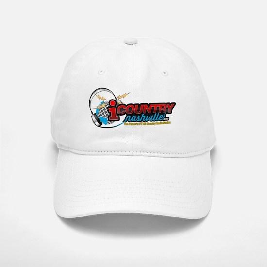 iCountryNashvilleLogo Baseball Baseball Cap