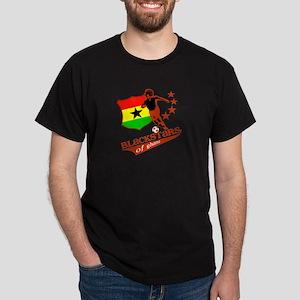 black stars of Ghana Dark T-Shirt