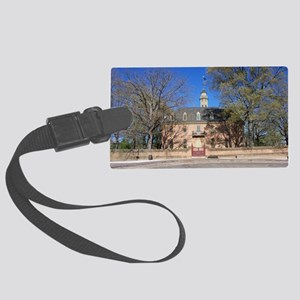 COLONIAL CAPITOL, WILLIAMSBURG V Large Luggage Tag