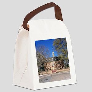 COLONIAL CAPITOL, WILLIAMSBURG VI Canvas Lunch Bag