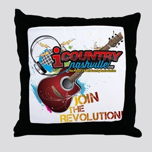 Join the Revolution Throw Pillow
