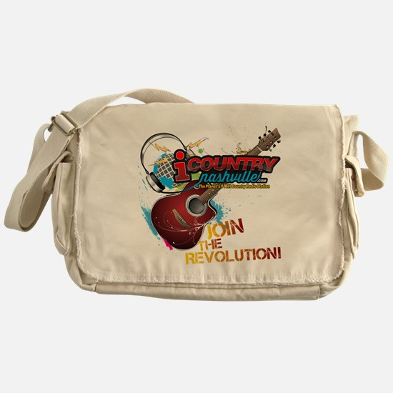 Join the Revolution Messenger Bag