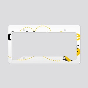 Daddy To Bee License Plate Holder