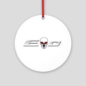 Evo Skull Ornament (Round)