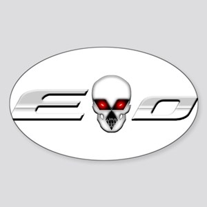 Evo Skull Sticker