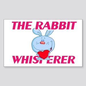 The Rabbit Whisperer Sticker