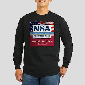 We Listen Long Sleeve T-Shirt