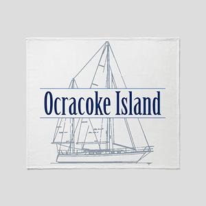 Ocracoke Island - Throw Blanket