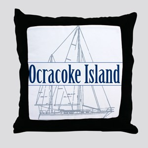 Ocracoke Island - Throw Pillow