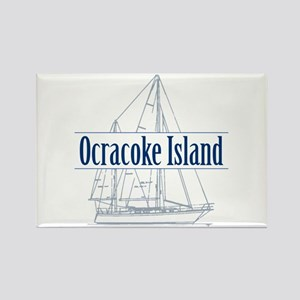 Ocracoke Island - Rectangle Magnet