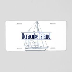 Ocracoke Island - Aluminum License Plate