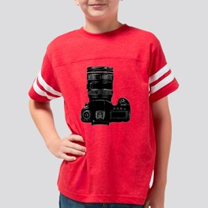 Camera Up! Youth Football Shirt