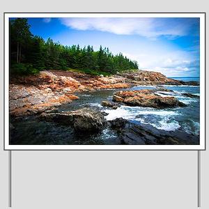 Acadia National Park Yard Sign