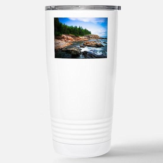 Acadia National Park Stainless Steel Travel Mug