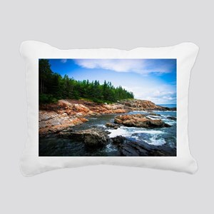 Acadia National Park Rectangular Canvas Pillow