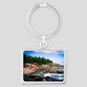 Acadia National Park Landscape Keychain