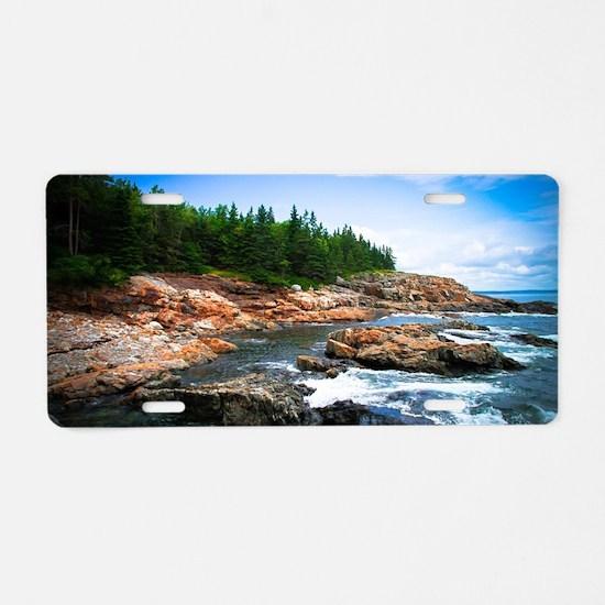 Acadia National Park Aluminum License Plate