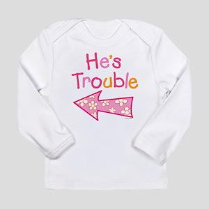 HesTrouble Long Sleeve T-Shirt