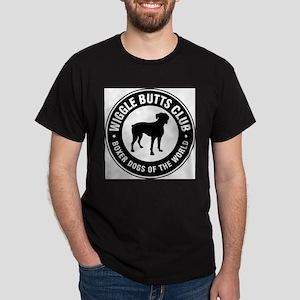 Wiggle Butts Club Ash Grey T-Shirt