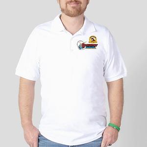 Big Ox Distressed Retro Golf Shirt