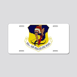 101st ARW Aluminum License Plate