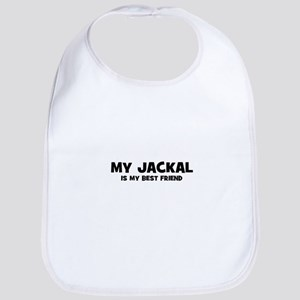 My JACKAL is my Best Friend Bib
