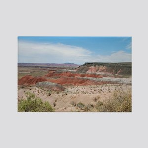 Red Valley at the Painted Desert Rectangle Magnet