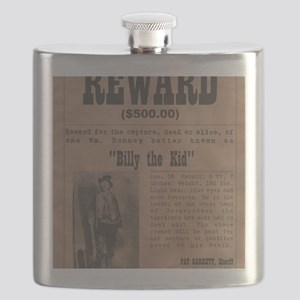 Billy the Kid Wanted Poster by McMinnie Flask