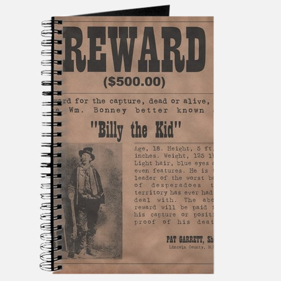 Billy the Kid Wanted Poster by McMinnie Journal