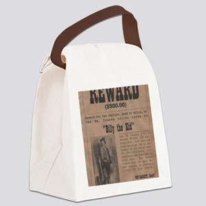 Billy the Kid Wanted Poster by Mc Canvas Lunch Bag