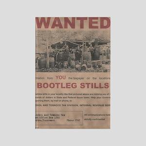 Bootleg Stills Info Wanted Poster Rectangle Magnet