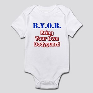 BYOB Bodyguard Infant Bodysuit