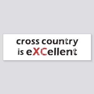 Cross Country eXCellent Sticker (Bumper)