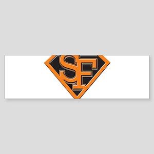 Super Sf Bumper Sticker