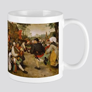 The Peasant Dance by Pieter Bruegal the Elder Mugs