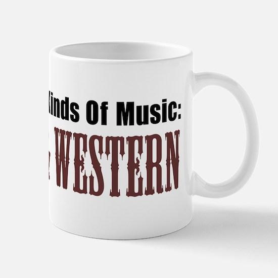 Two Kinds Music Country Western Mug