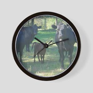 black angus Wall Clock