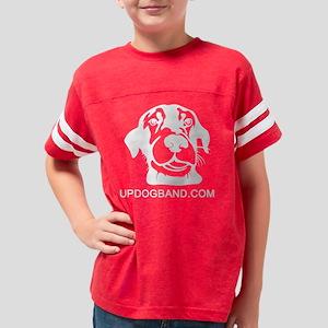 updogband white Youth Football Shirt