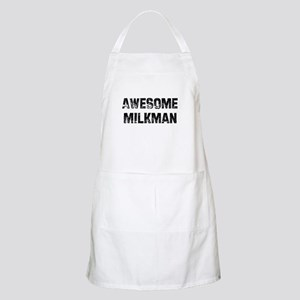 Awesome Milkman BBQ Apron