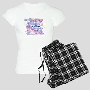 Scottish Independence Concept Cloud Pajamas