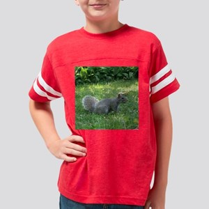 Squirrel10x10 Youth Football Shirt