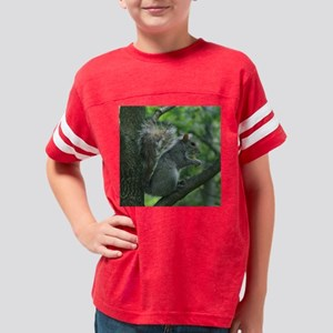 SquirrelFry10x10 Youth Football Shirt