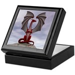 Red Dragon Keepsake Box