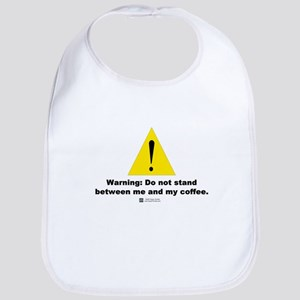 Coffee Warning -  Bib